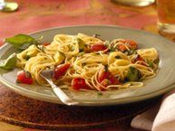 Angel Hair with Tomato and Basil recipe from Betty Crocker