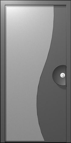 The Huston Door is designed in a line which is similar to the yin and yang. The door has a flowing look, with round lines creating a harmonious sensation. The unique handle designed especially for this door compliments the harmonious look while embedding the cylinder in it.