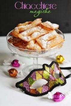 La ricetta della felicità: Chiacchiere magiche con due soli ingredienti... gluten free!