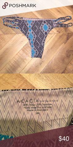 Acacia Swimwear Bottoms Super sexy, minimal design! Size Medium, runs small. acacia swimwear Swim Bikinis