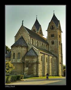 Roman Catholic Church of St James de Apostle, built from 1199 to 1212 in Lébény, Gyor-Moson-Sopron_ West Hungary Catholic Churches, Roman Catholic, Hungarian Recipes, Place Of Worship, Cathedrals, Budapest, Countries, Beautiful Places, Journey