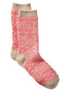 LOVE comfy and warm socks in the winter!!
