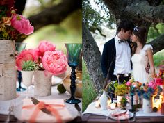 outdoor weddings with lots of color   Crazy beautiful, right? Stay tuned because later today I have a few ...