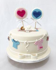 Revelation Cake - Bolo revelação - Girl or Boy @gabrielalemoscakes