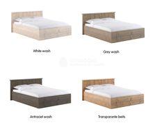Steigerhout bed Modern