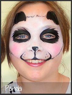 panda face painting by mimicks