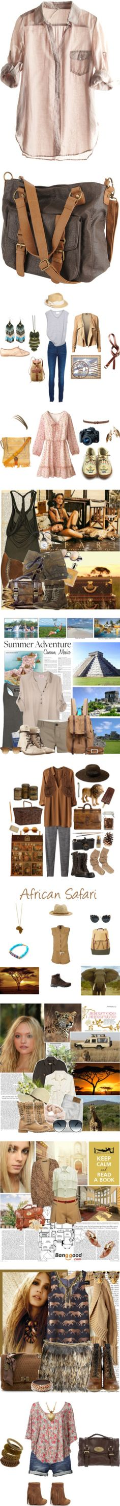 """""""Archaeology"""" by duvee75 ❤ liked on Polyvore"""