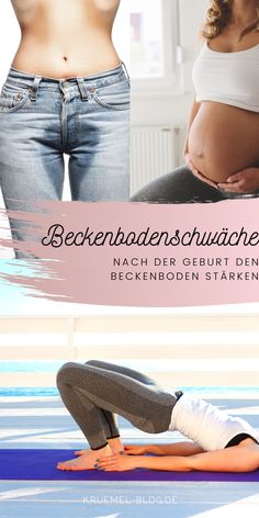 Beckenboden stärken Many women suffer from incontinence and pelvic floor weakness during pregnancy or after giving birth. Fit Girl Motivation, Fitness Motivation, Health Club, Health Fitness, Kickboxing Workout, Baby Care Tips, Health Logo, Pelvic Floor, Pregnancy Workout