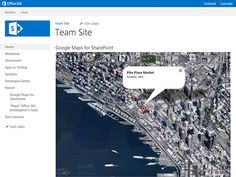 Google Maps for SharePoint