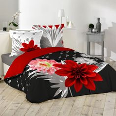 Housse de couette et deux taies (240 cm) Anabella : choisissez parmi tous nos produits Housse de couette Draps Design, Designer Bed Sheets, Princess Bedrooms, Comforters, Bed Rooms, Blanket, Organizers, Decorations, Embroidery