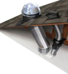 Solar tube - Ventilation Add-On Kit (160 DS)