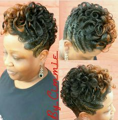30 Hottest Short Layered Haircuts Right Now (Trending for - Style My Hairs Quick Weave Hairstyles, Cute Hairstyles For Short Hair, Girl Hairstyles, Curly Hair Styles, Natural Hair Styles, Black Hairstyles, Pixie Styles, Short Styles, Vintage Hairstyles