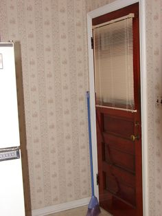 Back door before remodel