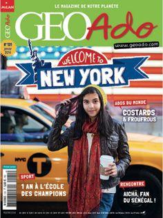 Comment écoutez-vous la musique ? (p. 10-11) Elisa Detrez (p. 12-13) Actu «Quoi de neuf ?» : musique, cinéma, lecture, jeux, expos (p. 14-17) News in english : What's up New York ? (p. 18-19) Enquête : New York (p. 22-31) Graines de champions (p. 36-41) Un toit pour Anna, en Géorgie (p. 42-43) Je suis une fille et je voyage seule (p. 44-49) Reportage : Gracias Patagonia ! (p. 50) Planète ados : Costards et froufrous (p. 52-57) Carnet de voyage : Le Sénégal, c'est comme une famille (p…