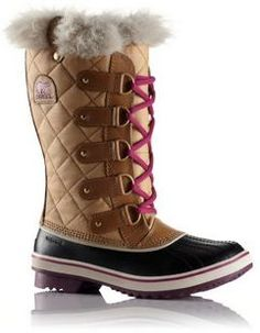 Sorel Womens Tofino Cate ~ I have these in red/black/tan...LOVE them!! My fave winter boots!!;)