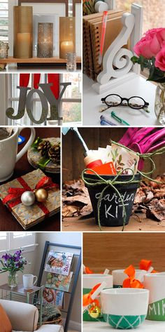 7 Great Ideas for DIY Gifts!