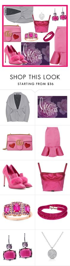 """""""Life itself is the most Wonderful Fairy Tale💖"""" by mdfletch ❤ liked on Polyvore featuring Balmain, Trademark Fine Art, Gucci, J.Crew, Jimmy Choo, Swarovski, Lauren Ralph Lauren, Anne Sisteron and fairytale"""