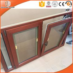 American Best Seller Solid Wood Hopper casement window with Great Heat Insulation Performance