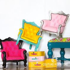 The Mini Baroque Series contemporary-armchairs