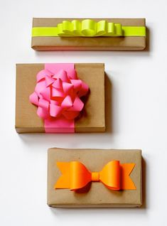 Exemplos de embrulhos originais para os presentes de Natal | A Nossa Vida