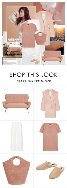"""Before Sunset"" by rainie-minnie ❤ liked on Polyvore featuring MaxMara, The Row, Missoni, Elizabeth and James and Eloquii"