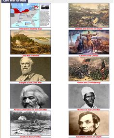 WOW!  An incredible site with TONS of information about the Civil War.