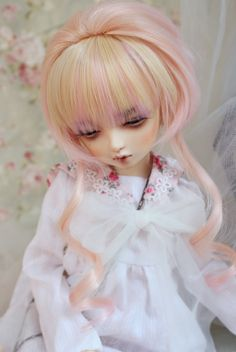 [Special clearance section] high temperature wire wig [274] bjd golden peach - Taobao global Station