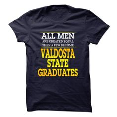 #Funnytshirts... Cool T-shirts  Price: $23.99Purchase Now  Low cost Codes View photographs & pictures of Valdosta State University Graduates For Men t-shirts & hoodies:In the event you do not completely love our design, you'll be able to SEARCH your favouri...