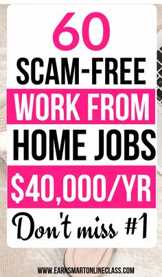 Looking for work from home jobs to earn extra money full-time or par-time? Get the latest work at home job leads on this page. Perfect for stay-at-home moms Work From Home Moms, Make Money From Home, Way To Make Money, Marketing Program, Affiliate Marketing, Entrepreneur, Online Jobs From Home, Legitimate Work From Home, Work From Home Opportunities