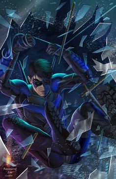 Nightwing by Raymund Lee