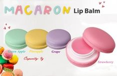 Macaron Lip Balm, $12.50 / 41 Awesome Gift Ideas For The Beauty Addict In Your Life (via BuzzFeed)