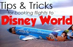 Finding the best flights for your Disney World trip - 3 airport options, research tools, ways to save, when to buy, Magical Express, tips on flying with kids
