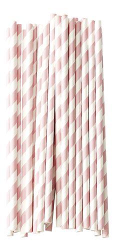 Miss Étoile paper straws white rose stripe pcs) Deco Candy Bar, Paper Straws, Vintage Girls, Best Brand, White Roses, Pale Pink, Home Goods, Interior Decorating, Vintage Fashion