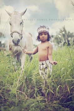 Young indian - cowboys and indians - boy and horse - hawaii - oahu - arrow leggings - boy fashion leggings