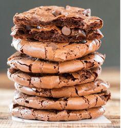 mjölfria fudge cookies