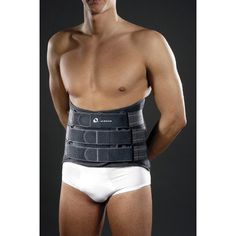MBrace 573 Extra Lumblock with Rigid Stays Back Brace in Dark Grey Size Large * Check out this great product.