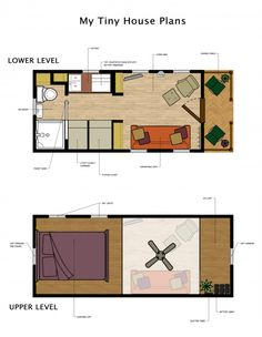 Tiny House Floor Plans | Pinterest | Tiny houses, Lofts and House