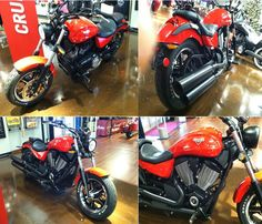 See Latest Updated Used Victory 2014 Judge Cruiser Motorcycles available for sale by Pony powersports group for $ 13499 in Westerville, OH, USA. This Used Bike available in red/black color with best features. It's looks good conditon and runs good. If you interested to see more details, then click to log on At: http://goo.gl/qDs5Ge