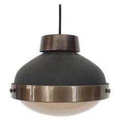 Italian Ceiling Lamp by Gino Sarfatti '3027p, for Arteluce