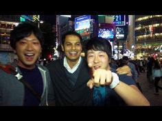 24 Hours at Hachiko Scramble in Shibuya ★ WAO✦RYU!TV ONLY in JAPAN #10 - YouTube