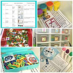 Setting Up Math Stations for the Beginning of the Year