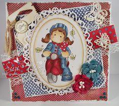 Sugar n Spice: Bunny Zoe's Crafts - Gdt card