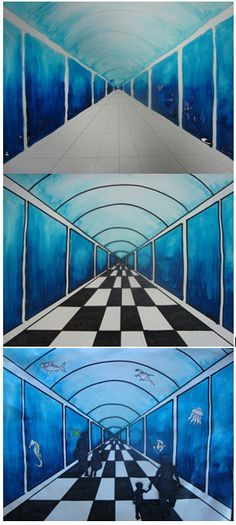 Aquariumles bovenbouw. Zie: http://www.onceuponanartroom.com/search/label/Aquariums