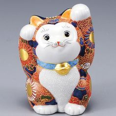 Japanese Maneki Neko Both hands Lucky cat Kutani ceramic Kutani http://www.amazon.com/dp/B00DKSNDT4/ref=cm_sw_r_pi_dp_H-3mub0DZHZ8S