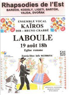 La Lettre des Beauzons: Ensemble vocal Kaïros à Laboule