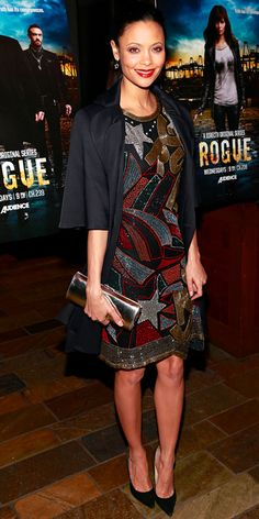 """Thandie Newton in Gathering Goddess (2013 """"Rogue"""" Season 1 premiere)"""