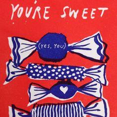 Enjoying writing my #valentines #cards!