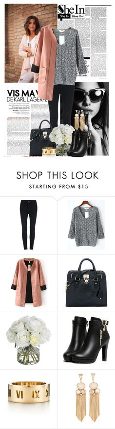 """Sheinside.com  7"" by laurafox27 on Polyvore featuring Nicki Minaj, Diane James and Tiffany & Co."
