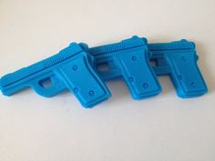 For your favorite police officer or military man, cute novelty soaps for party favors and stocking stuffers. Gun Decor, Military Man, Police Officer, Soaps, Stocking Stuffers, Party Favors, Massage, Guns, Future
