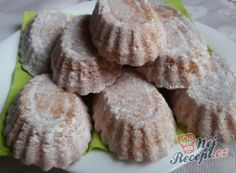 Kokosové banánky | NejRecept.cz Christmas Cookies, Chocolate, Desserts, Noel, Ginger Beard, Biscuits, Top Recipes, Xmas Cookies, Tailgate Desserts